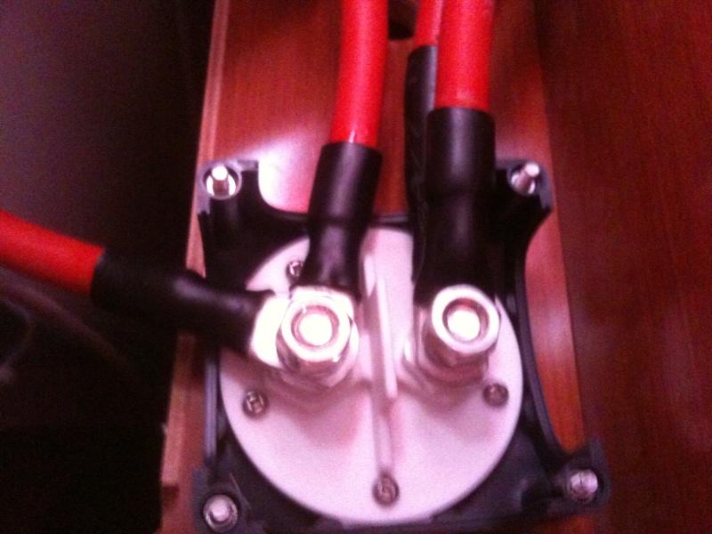 Pose et installation d'un propulseur d'étrave (Quick BTQ85DP) Img_0619
