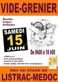 Vide Grenier le 15 Juin à Listrac Médoc  0bd79610