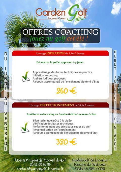 Offre de Coaching, Jouez au Golf cet été ! 10017810