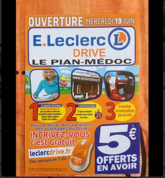 Leclerc Drive au Pian Médoc Fgd_ti10