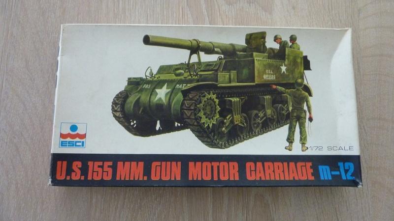 Unboxing: Esci 8029, M12 Gun Motor Carriage 155mm 011-bo11