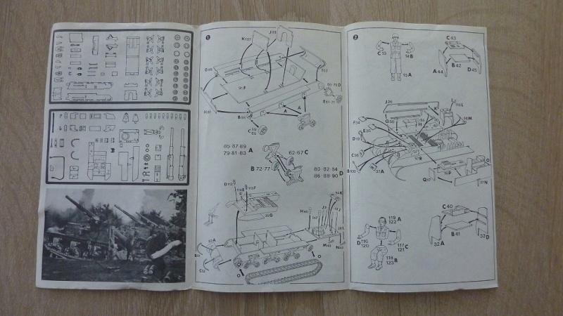Unboxing: Esci 8029, M12 Gun Motor Carriage 155mm 052-pl10