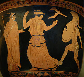 MYTHOLOGIE GRECQUE : L'ODYSSÉE d'HOMÈRE Helen_10