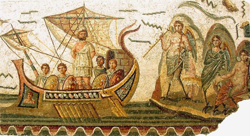 MYTHOLOGIE GRECQUE : L'ODYSSÉE d'HOMÈRE Ulysse12