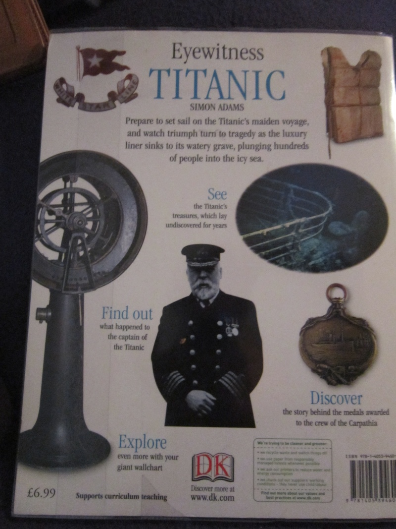 On a sea of glass : The life & the loss of the RMS Titanic - Page 2 20130513