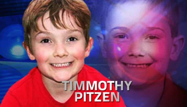 Six year old boy, Timothy Pitzen, missing after mother, Amy J. Fry-Pitzen, found dead Atimmo10