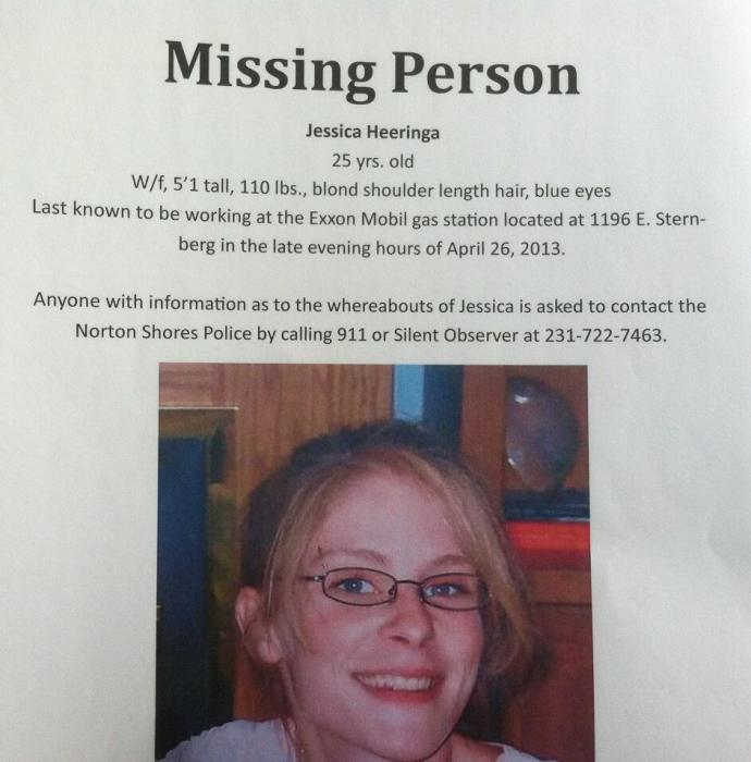 Michigan Mother, Jessica Heeringa, 25, Disappears From Late Night Shift at Gas Station. LE still looking for clues, thinks she was abducted. Newest10