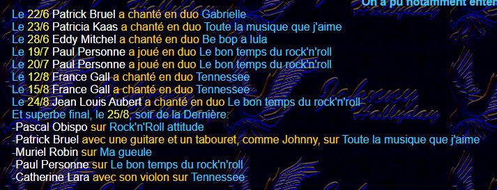 Johnny, un soir à l'Olympia le 1er Décmbre 2019 - Page 4 Duos_o10