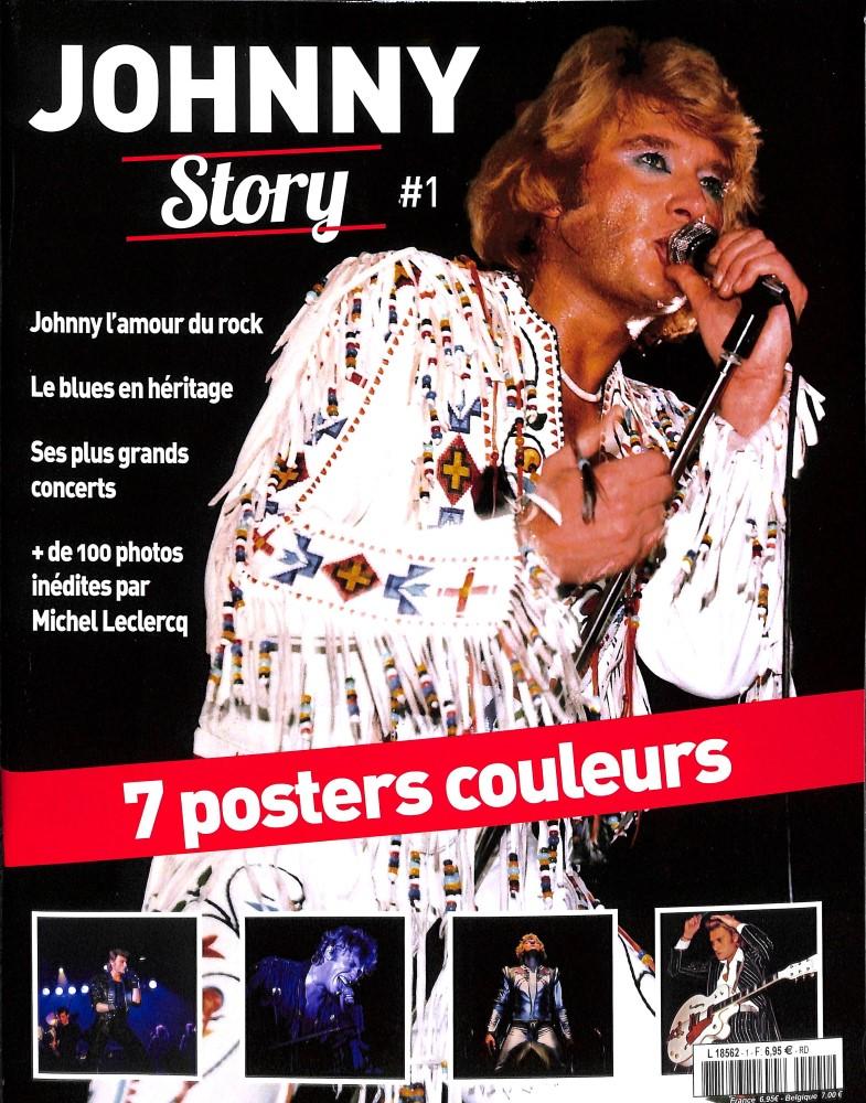 sortie en kiosque du numero 1 de JOHNNY STORY L8562_11