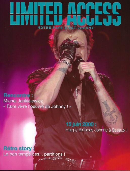 Johnny dans la presse 2020 La5610