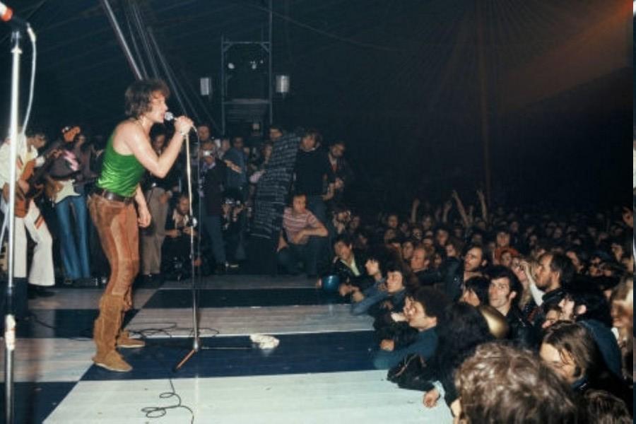 LES CONCERTS DE JOHNNY 'TOURNEE JOHNNY CIRCUS 1972' Prompt10