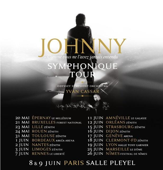 Johnny Symphonique Tour, Retran11
