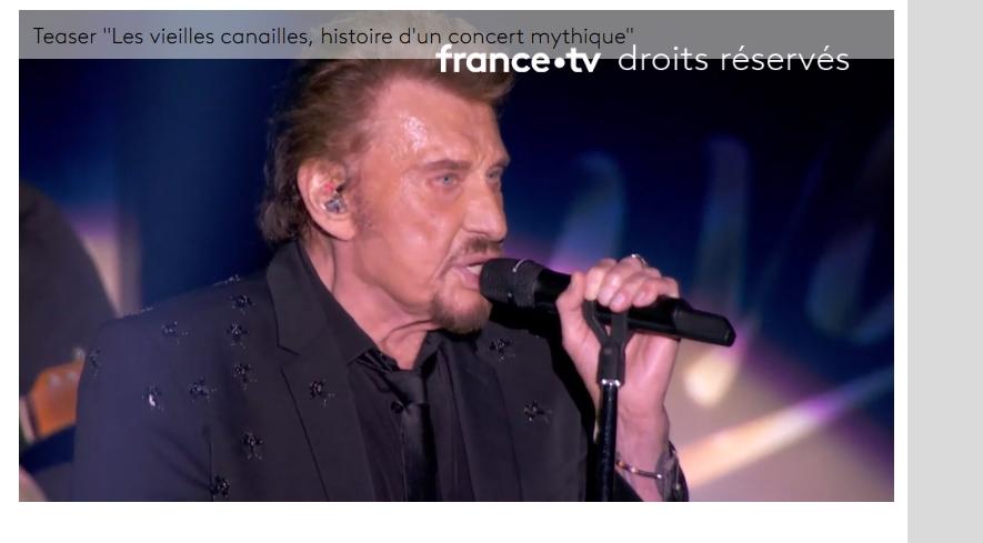 """""""Les Vieilles Canailles, histoire d'un concert mythique"""" à la TV Screen12"""