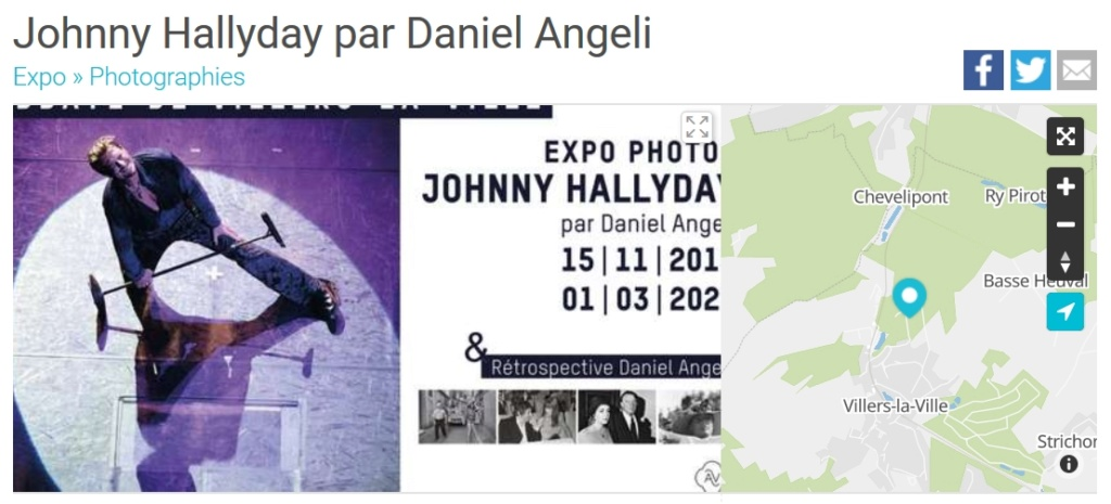 Expo Johnny pour nos amis Belges Screen14