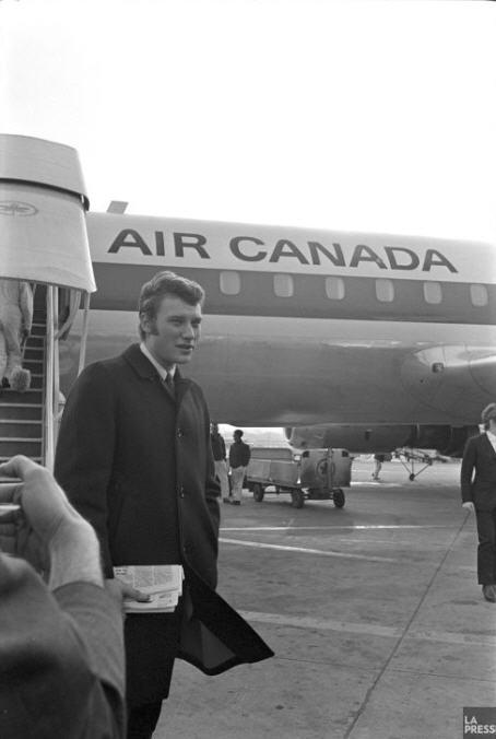 Johnny au Quebec en 1966 Z110