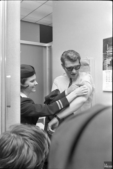 Johnny au Quebec en 1966 Z310