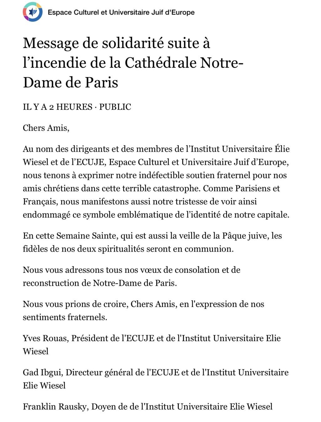 Incendie à Notre Dame de Paris ! - Page 2 Img_9314