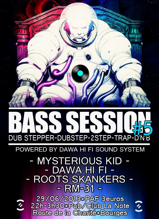 BASS SESSION #5 @ La Note (Bourges) Bass_s10