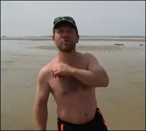 Papou à la plage Papou10