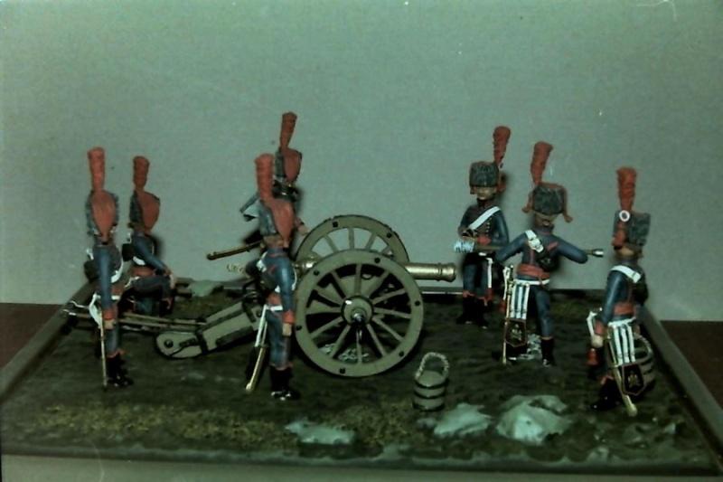 Französische Artillerie in Stellung K800_116