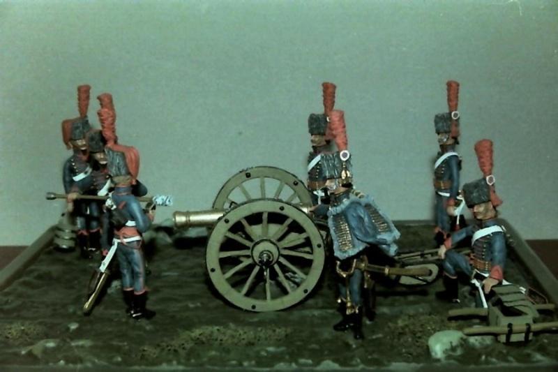 Französische Artillerie in Stellung K800_117