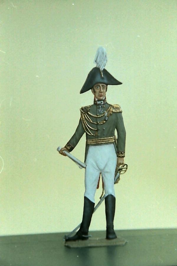 General von Clausewitz Flachfigur K800_118