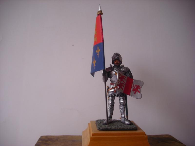 Bannerträger Codrington mit Fahne K800_c10