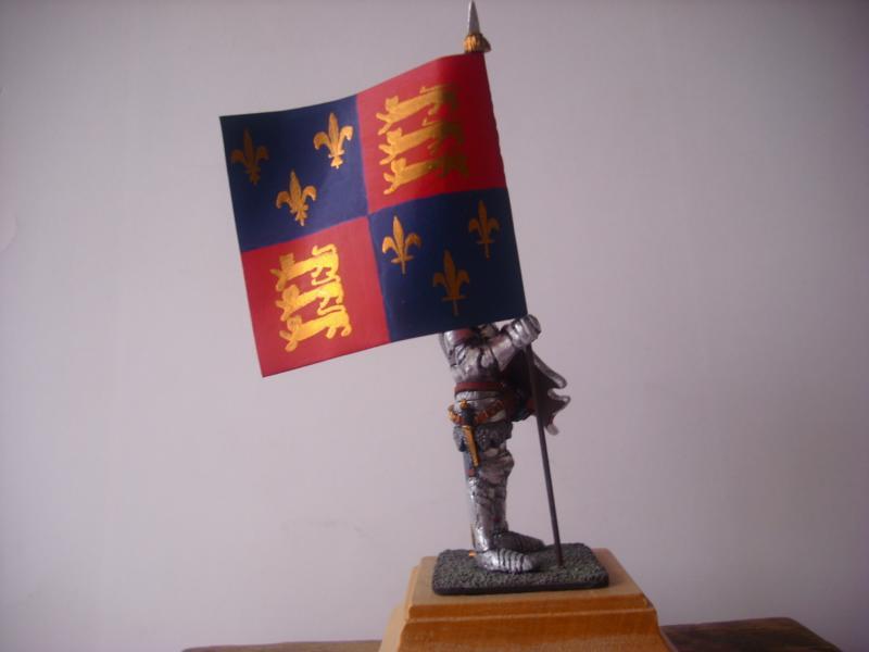 Bannerträger Codrington mit Fahne K800_c11