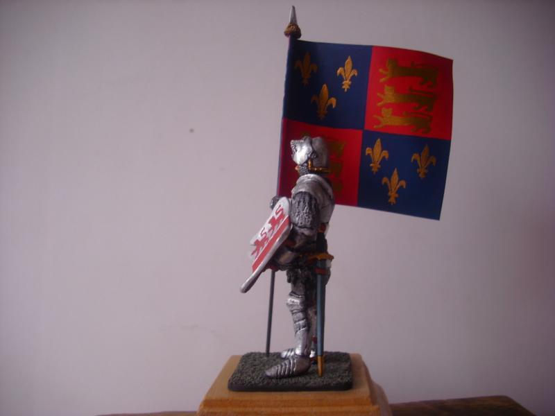 Bannerträger Codrington mit Fahne K800_c12