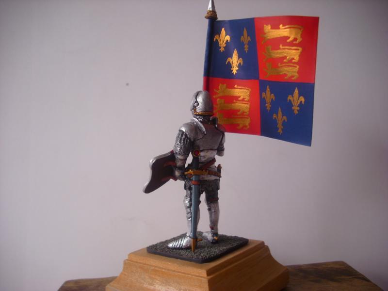 Bannerträger Codrington mit Fahne K800_c13