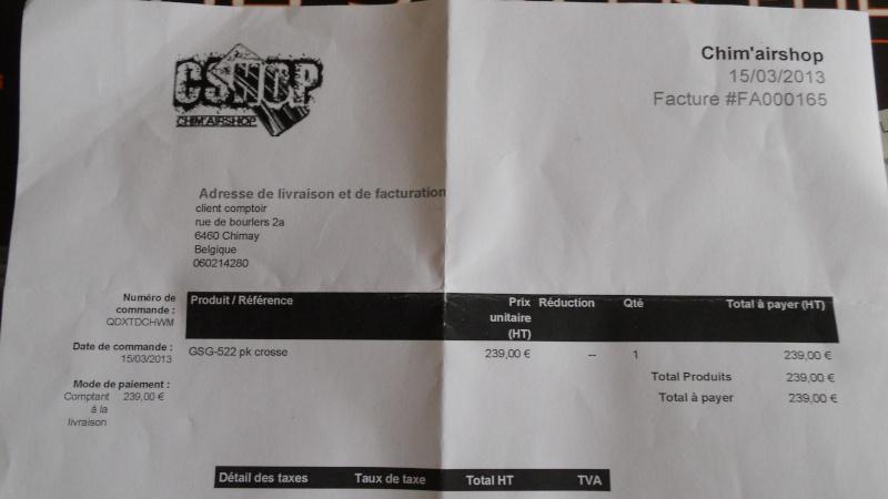 """A VENDRE GSG 522 150€ pas d""""échange Dscn7229"""