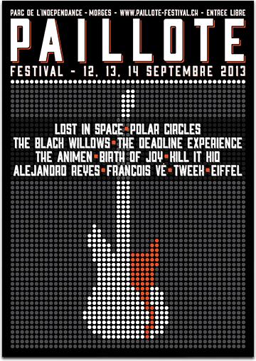 Paillote Festival - Morges - 12 au 14 septembre Affich11