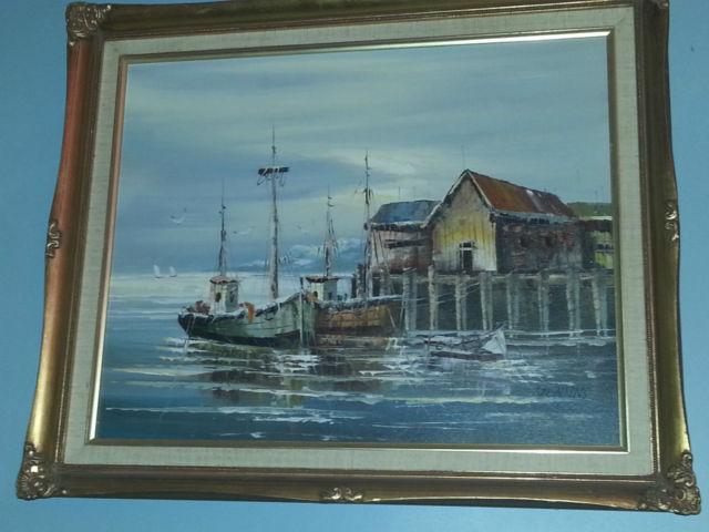 please help identify this artist oil painting signed jenkins Jenkin12