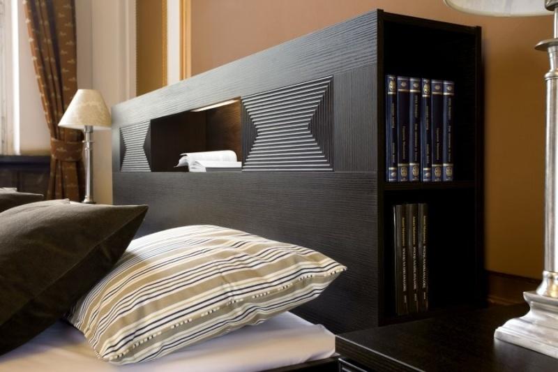 tête de lit avec niche Niche410