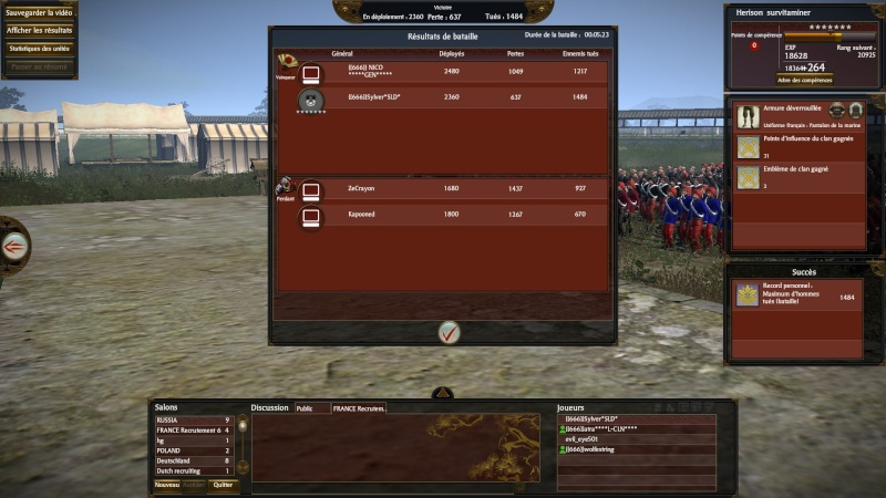liste de bataille terrestre 2v2 2013-011
