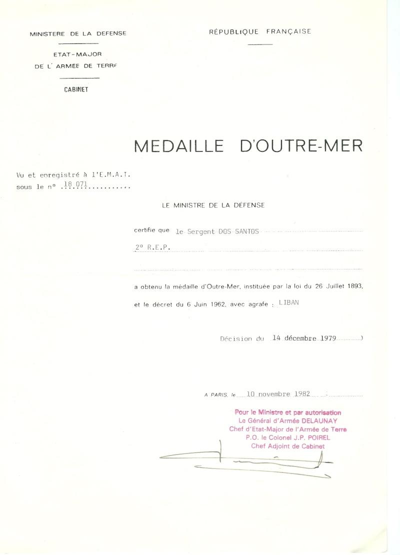 La Médaille d'Outre-Mer 1210