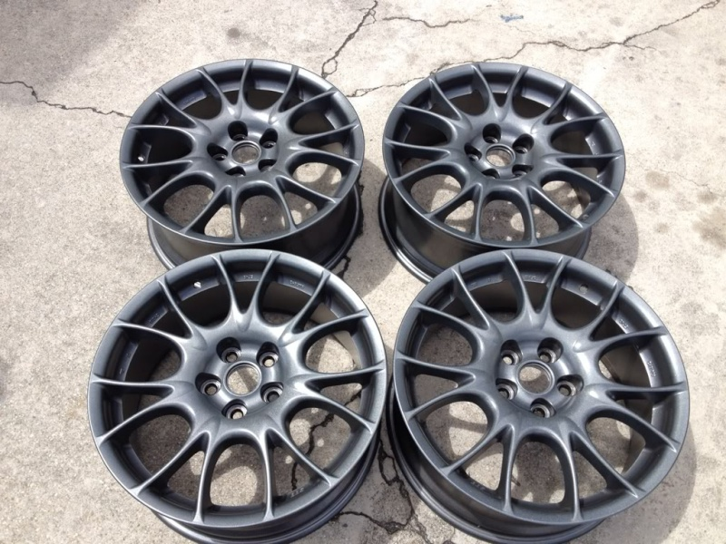 FS BBS CK wheel 18x8 w/o tires E440e711