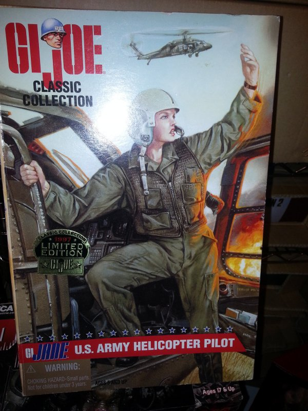 1997 GI Jane - US Army Helicopter Pilot, (Red Hair) Box11