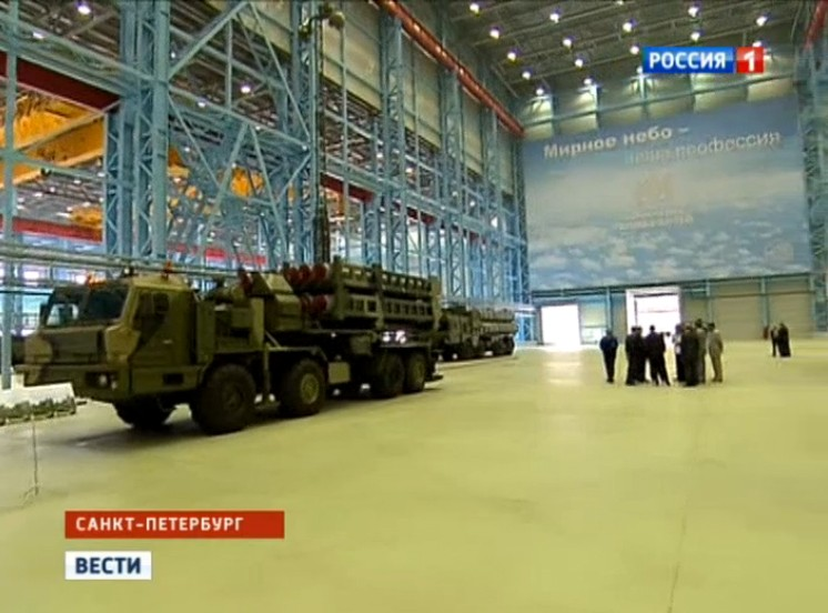 Vityaz (S-350E) SAM System Aoae-110