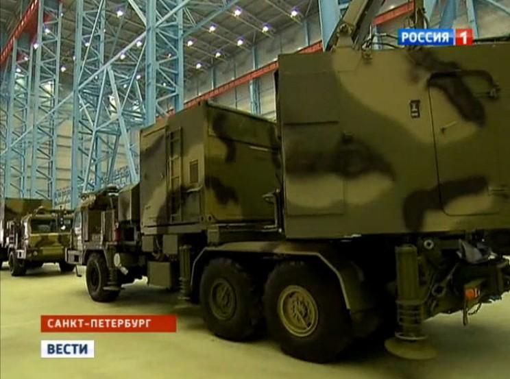 Vityaz (S-350E) SAM System Aoae-210