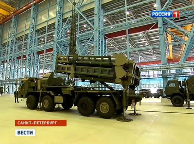 Vityaz (S-350E) SAM System Aoae-410