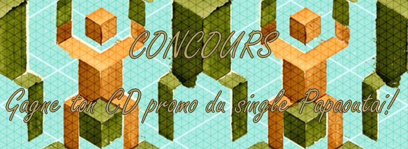 Gagnez un cd promo de Papaoutai! Concou12