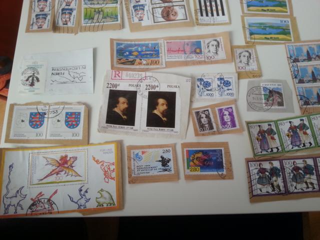 Briefmarken geerbt 20130510
