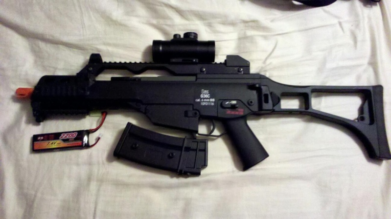 WTS: Ares G36C 91395710