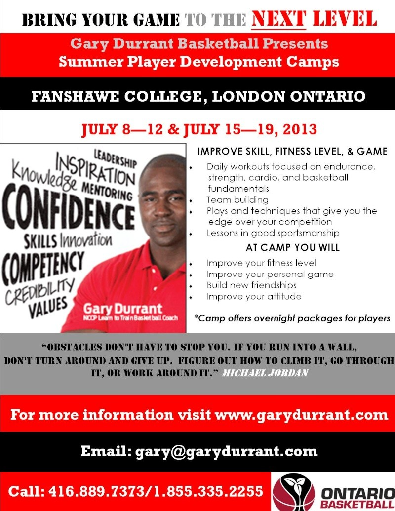 Gary Durrant- Summer Player Development Camps London11