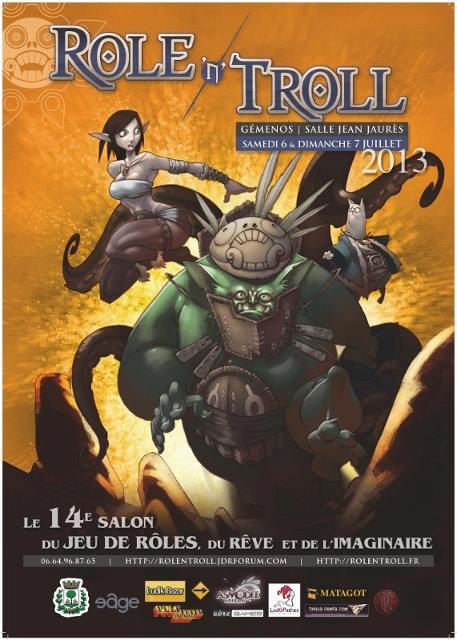 XIVe Salon du Jeu de Rôle, du Rêve et de l'Imaginaire 96014010