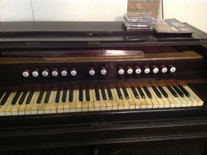 Nouvelle aquisition d'un harmonium Schyven Photo10