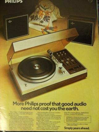 Casse per giradischi anni '70 philips Philip10