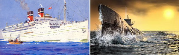 The Sinking Of The Arandora Star. Uboat10