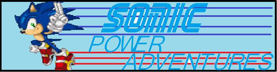 Sonic Power adventures